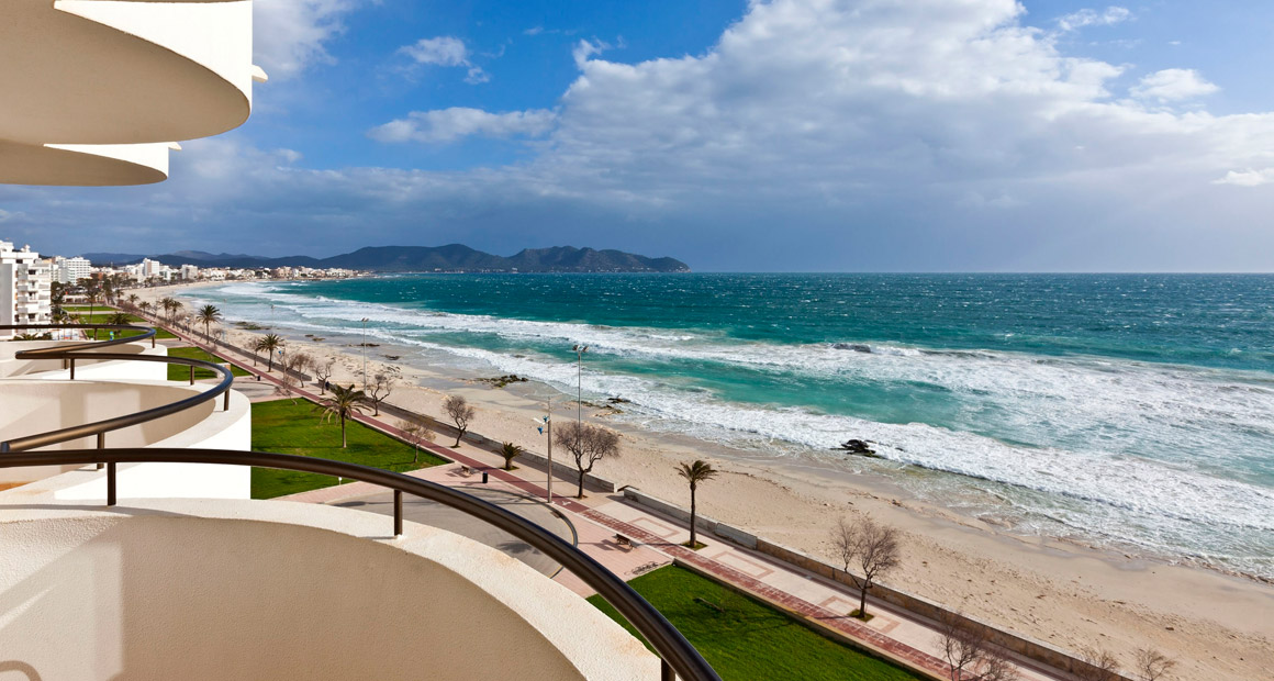 Stranden i Cala Millor