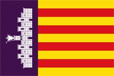 mallorca flagga