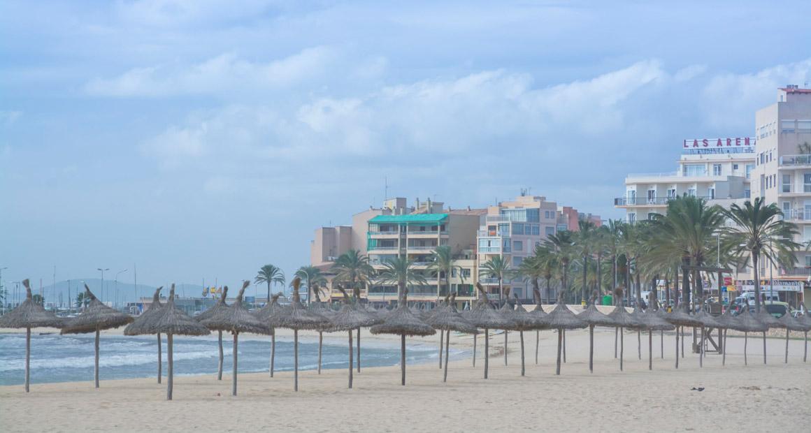 Stranden vid Can Pastilla