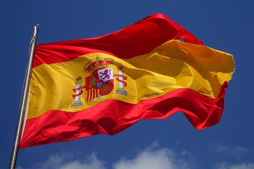 spanien flagga